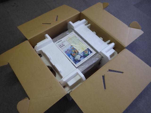 195【S.R】Victor/ビクター ビデオカセットレコーダー HR-Z1 S-VHS DA 元箱・リモコン UM-3 動作品 赤外線OK 取説付 ジャンク品 香川発_画像8