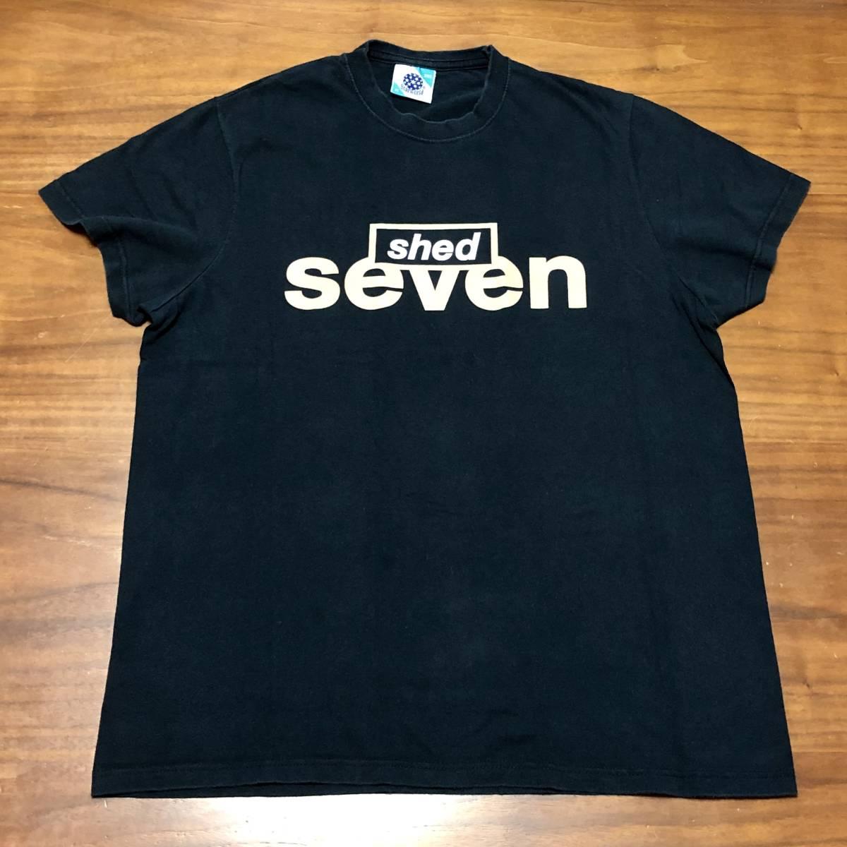 00s ビンテージ Shed 7 シェッド セブン Tシャツ Mサイズ ヴィンテージ バンドT BLUR OASIS NIRVANA ブリットポップ ブラー オアシス BOWIE_画像1