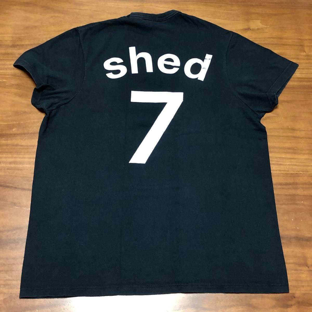 00s ビンテージ Shed 7 シェッド セブン Tシャツ Mサイズ ヴィンテージ バンドT BLUR OASIS NIRVANA ブリットポップ ブラー オアシス BOWIE_画像3