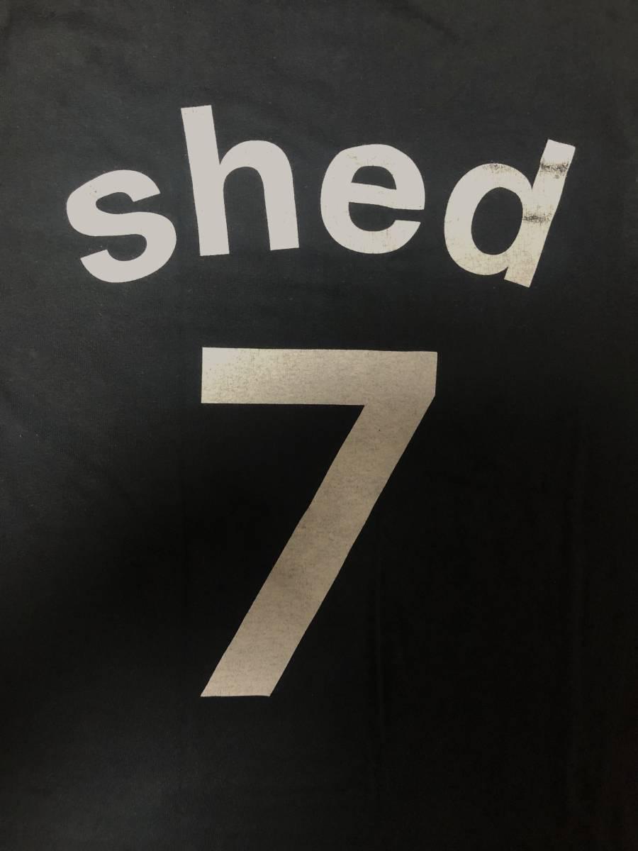 00s ビンテージ Shed 7 シェッド セブン Tシャツ Mサイズ ヴィンテージ バンドT BLUR OASIS NIRVANA ブリットポップ ブラー オアシス BOWIE_画像4