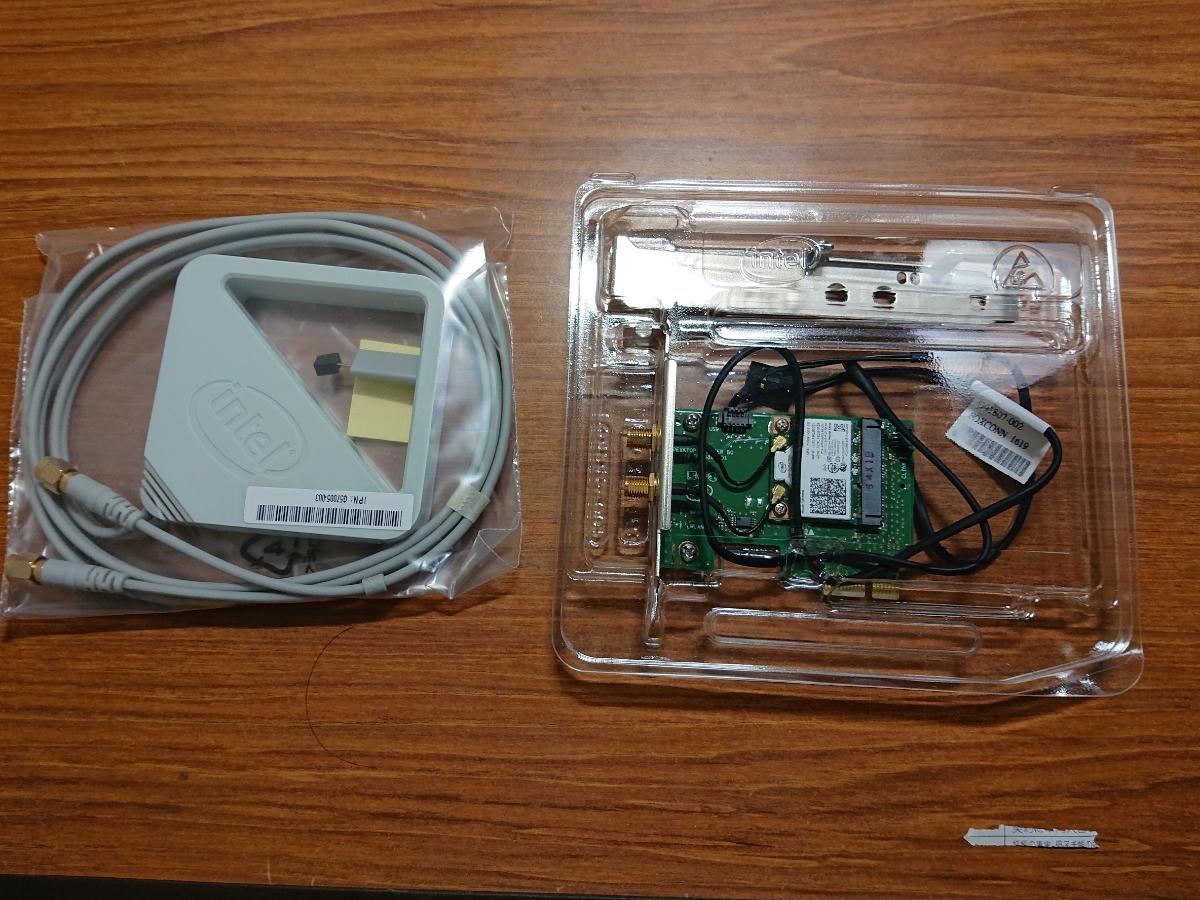 Intel Dual Band Wireless-AC 7260 for Desktop_画像2