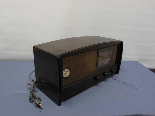 columbiaラジオ DS-79(993) 真空管ラジオ 昭和レトロ 動作OK_画像2