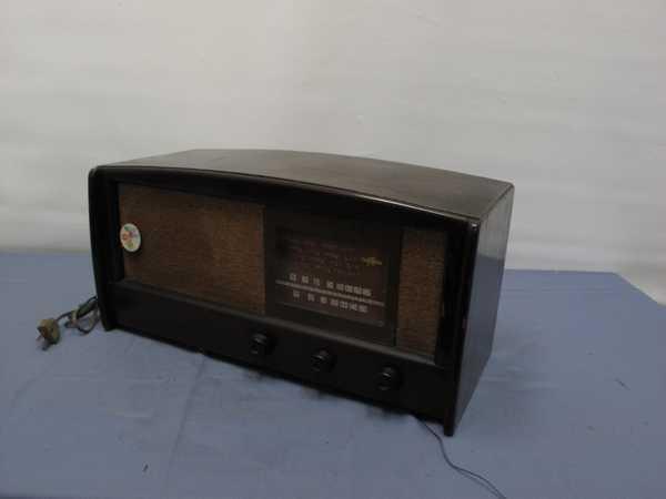 columbiaラジオ DS-79(993) 真空管ラジオ 昭和レトロ 動作OK_画像3