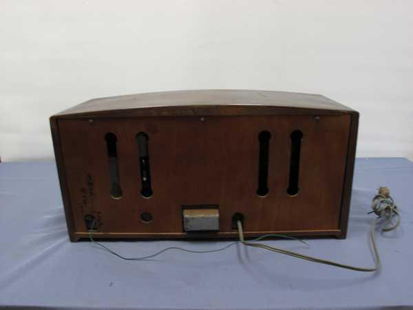 columbiaラジオ DS-79(993) 真空管ラジオ 昭和レトロ 動作OK_画像9