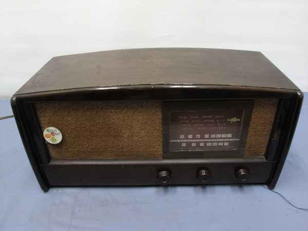 columbiaラジオ DS-79(993) 真空管ラジオ 昭和レトロ 動作OK_画像10