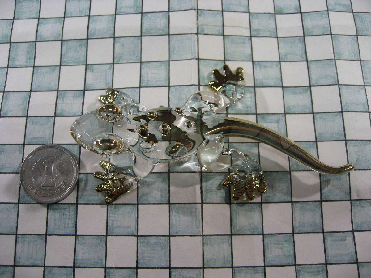 【全国一律送料込】 ガラス細工 コモドオオトカゲ コモドドラゴン 002_画像3