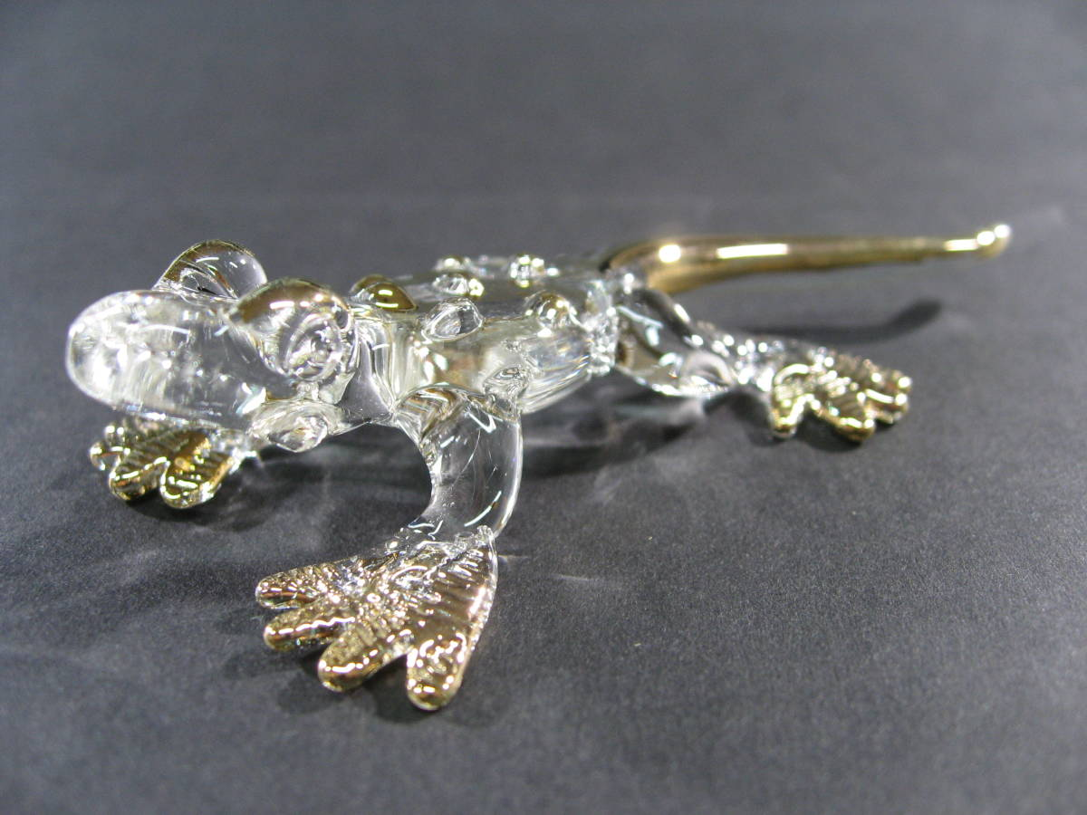 【全国一律送料込】 ガラス細工 コモドオオトカゲ コモドドラゴン 002_画像4