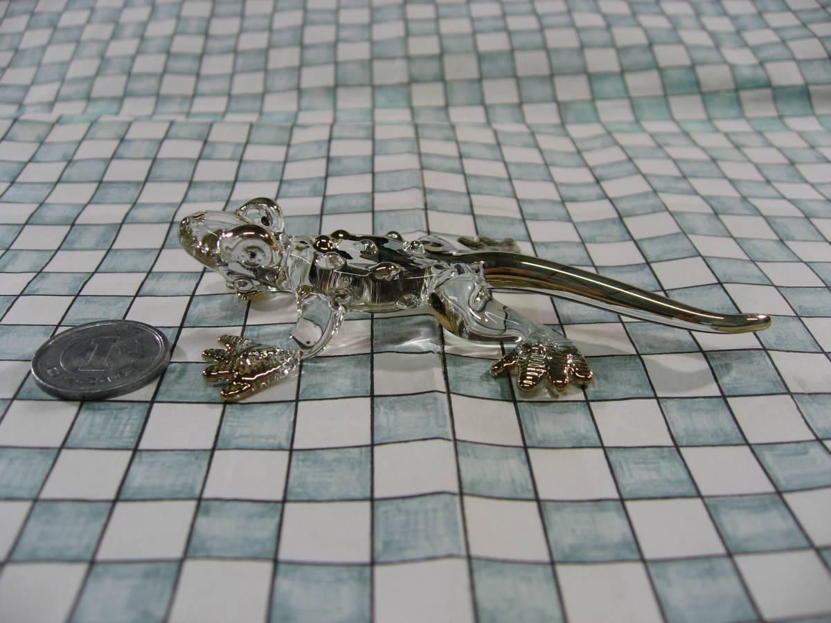 【全国一律送料込】 ガラス細工 コモドオオトカゲ コモドドラゴン 002_画像2