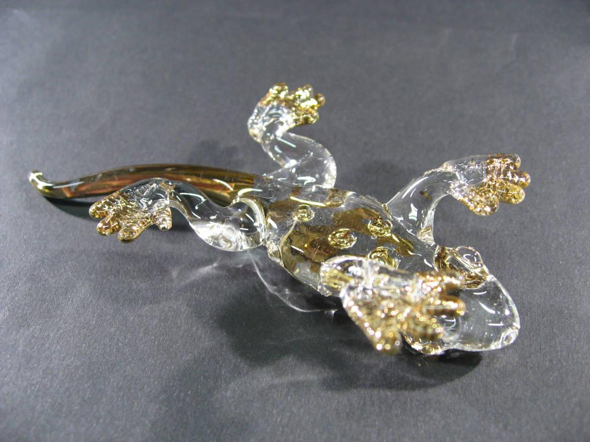 【全国一律送料込】 ガラス細工 コモドオオトカゲ コモドドラゴン 002_画像8