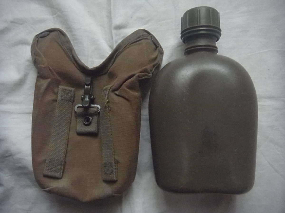 美品 実物 南アフリカ ローデシア軍 P70戦闘装備 1リットル水筒+カバー キャンティーン 特殊部隊 セルーススカウト SAS RECCE _画像4