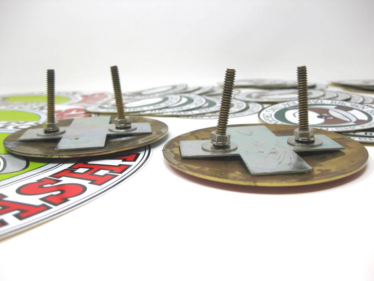 TAKI RACING TEAM BROWN BEAR CLUB of SPORTS タキ レーシング カーバッジ エンブレム ステッカー 超激レア レース アイテム サーキット_画像4