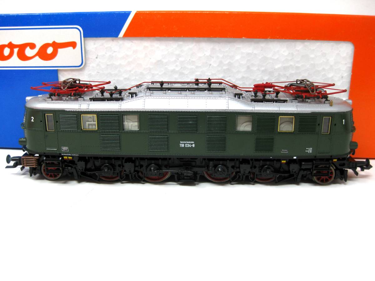 HOゲージ ロコ 63617 ROCO 機関車 鉄道模型 HOゲージ 未使用保管品 検索 Nゲージ 列車 車両 電車 機関車 超希少品 未使用保管動作未確認品