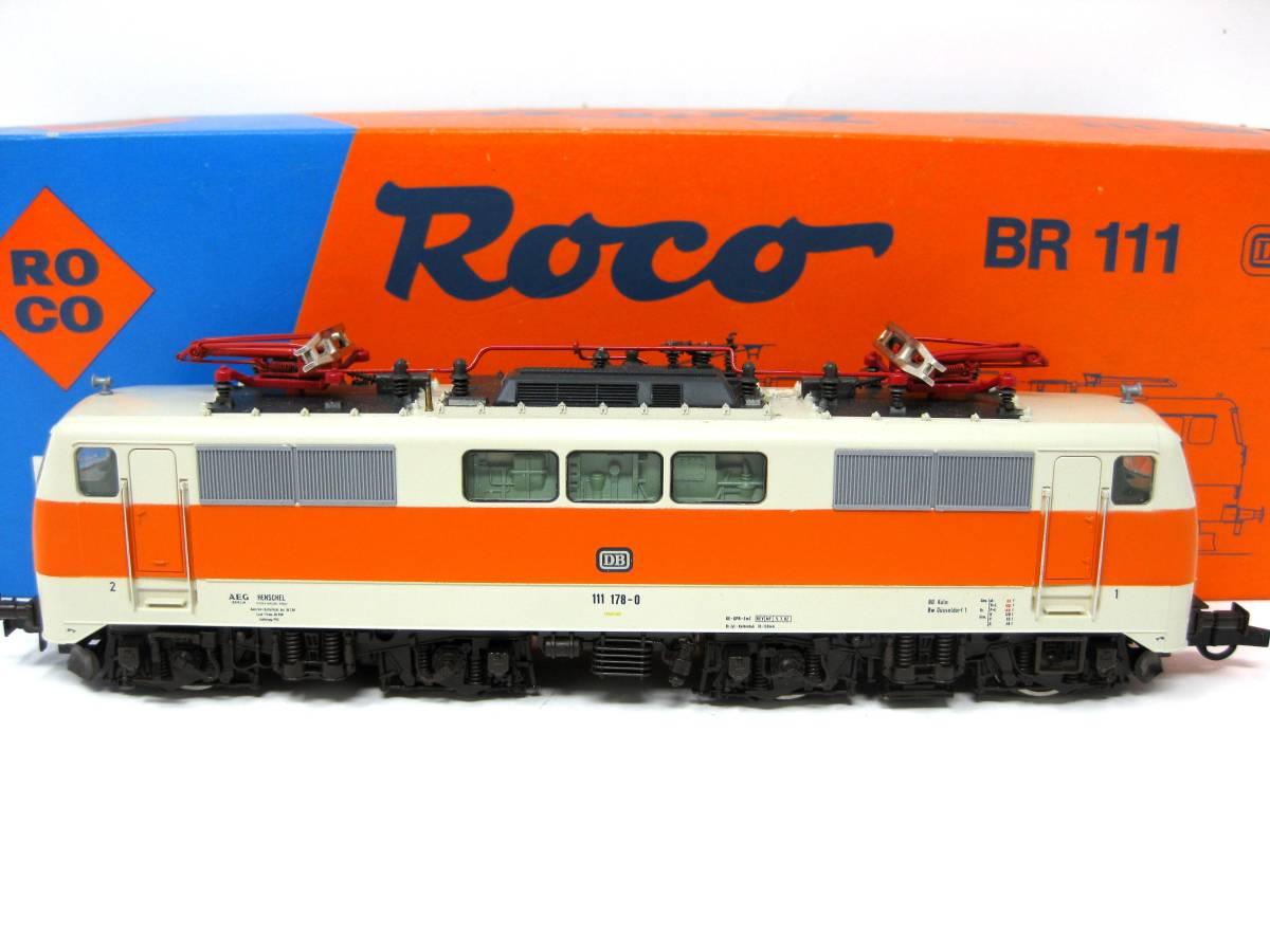 HOゲージ ロコ 43414 ROCO 機関車 鉄道模型 HOゲージ 未使用保管品 検索 Nゲージ 列車 車両 電車 機関車 超希少品 未使用保管動作未確認品
