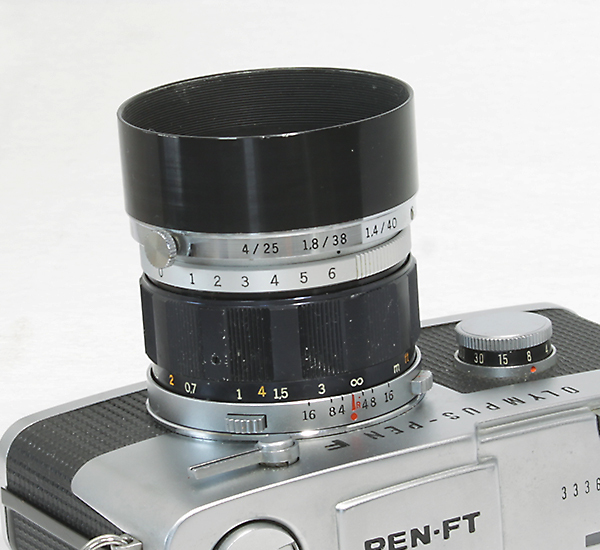 OLYMPUS PEN-FT 40mm F1.4_画像7