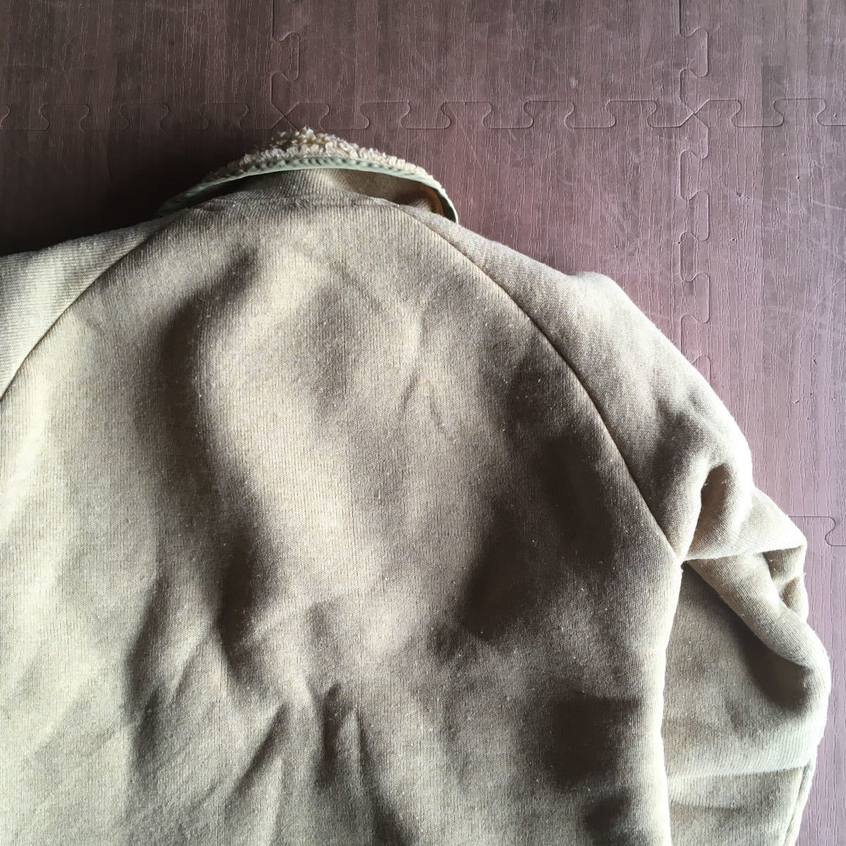 70s patagonia 白タグ パイル プルオーバー ジャケット ビンテージ オリジナル デカタグ vintage YKK / レトロ mars シュイナード サーフ_画像4