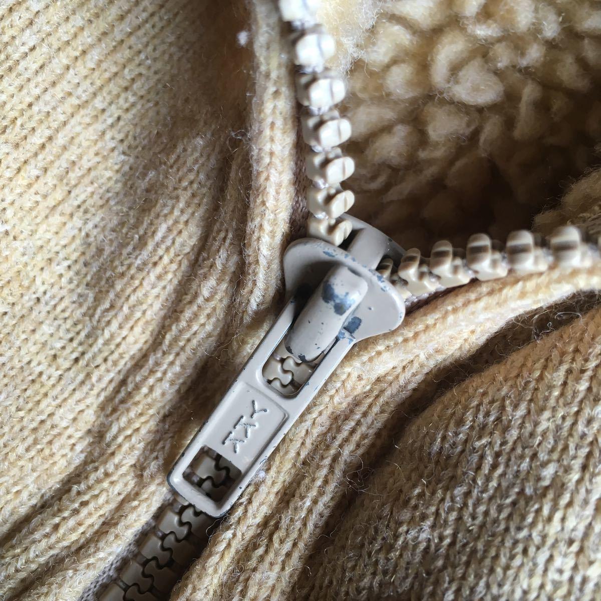 70s patagonia 白タグ パイル プルオーバー ジャケット ビンテージ オリジナル デカタグ vintage YKK / レトロ mars シュイナード サーフ_画像6