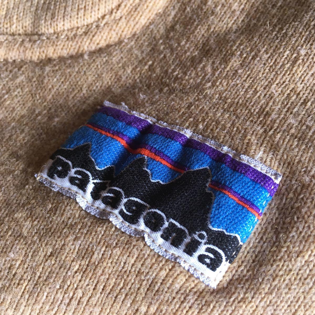 70s patagonia 白タグ パイル プルオーバー ジャケット ビンテージ オリジナル デカタグ vintage YKK / レトロ mars シュイナード サーフ_画像3
