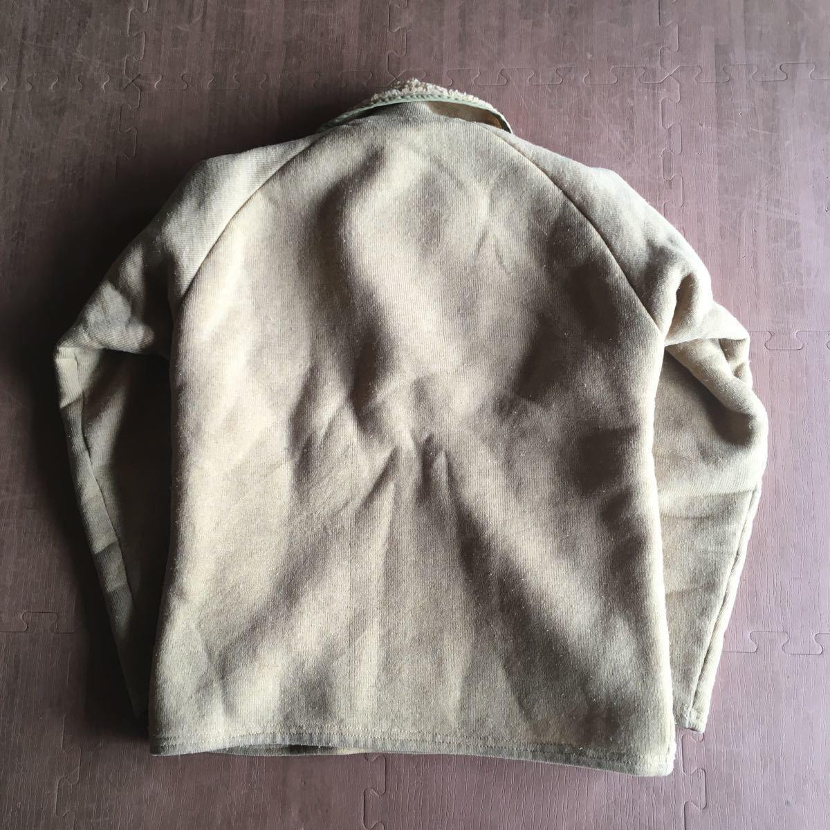 70s patagonia 白タグ パイル プルオーバー ジャケット ビンテージ オリジナル デカタグ vintage YKK / レトロ mars シュイナード サーフ_画像7