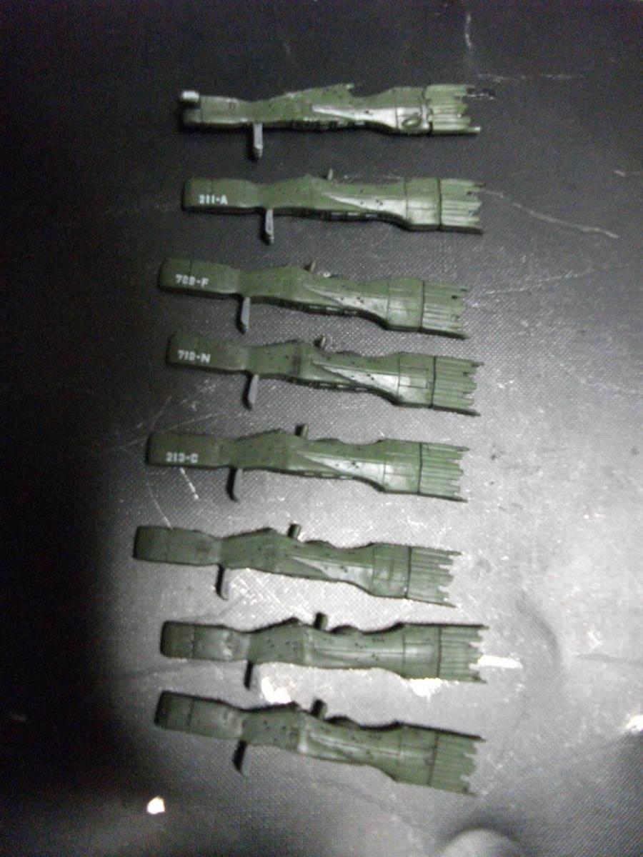 銀河英雄伝説 バトルシップコレクション 1/12000 ホビーベース グ 同盟軍 戦艦セット(2)ジャンク