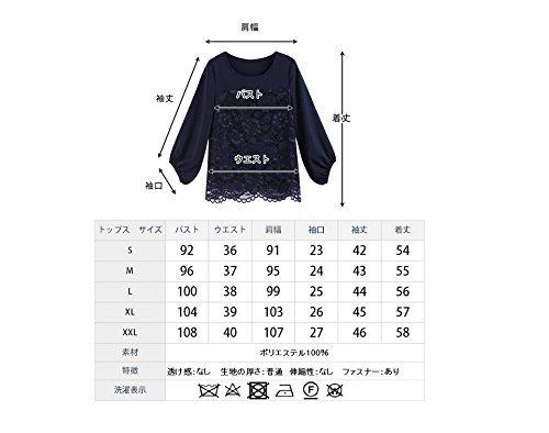 【新品】[YOUHA] パーティードレス パンツドレス 結婚式 大きいサイズ 袖あり セットアップ レディース (ブラック, L)_画像7