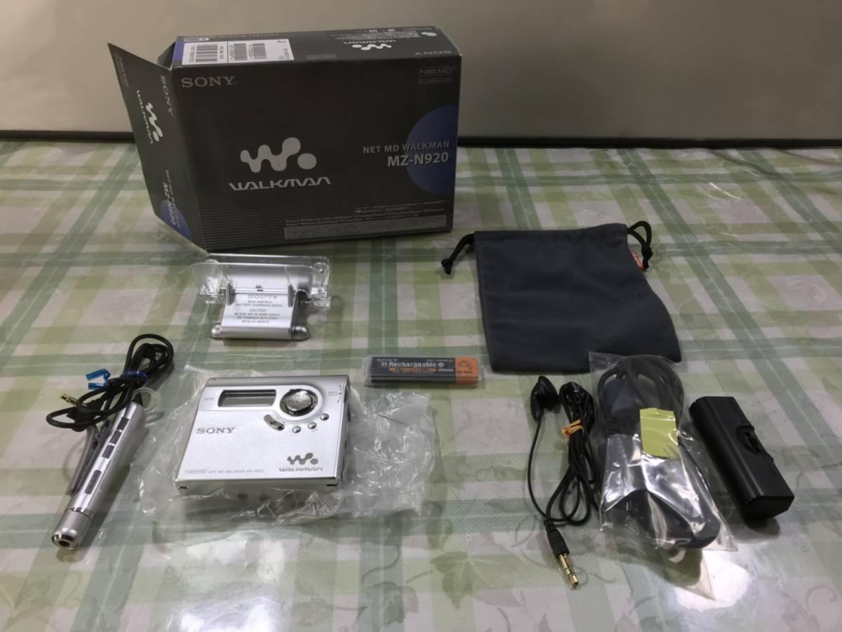 (266)SONY ソニー NET MD WALKMAN MDウォークマン MZ- N920_画像1