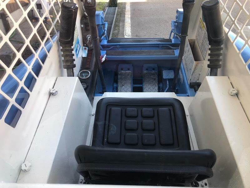 TCM ボブキャット604 3気筒ディーゼル 超低騒音型エンジン クリアパネル付 ワイドタイヤ仕様 ジョブサン_画像6