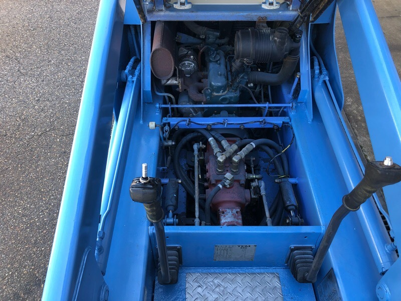 TCM ボブキャット604 3気筒ディーゼル 超低騒音型エンジン クリアパネル付 ワイドタイヤ仕様 ジョブサン_画像8