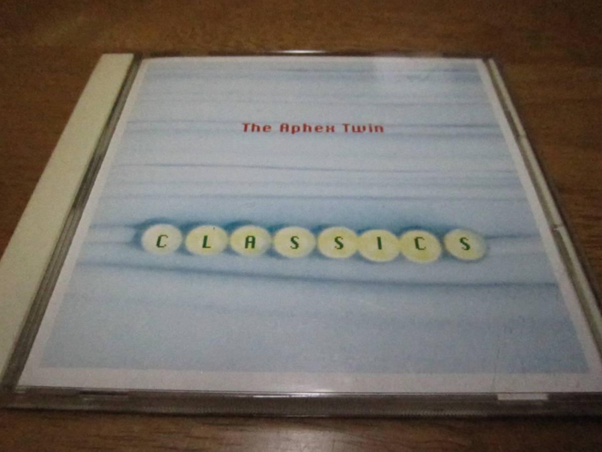 送料込み 再生確認済 中古CD 日本盤 帯あり APHEX TWIN CLASSICSエイフェックスツイン クラシックス