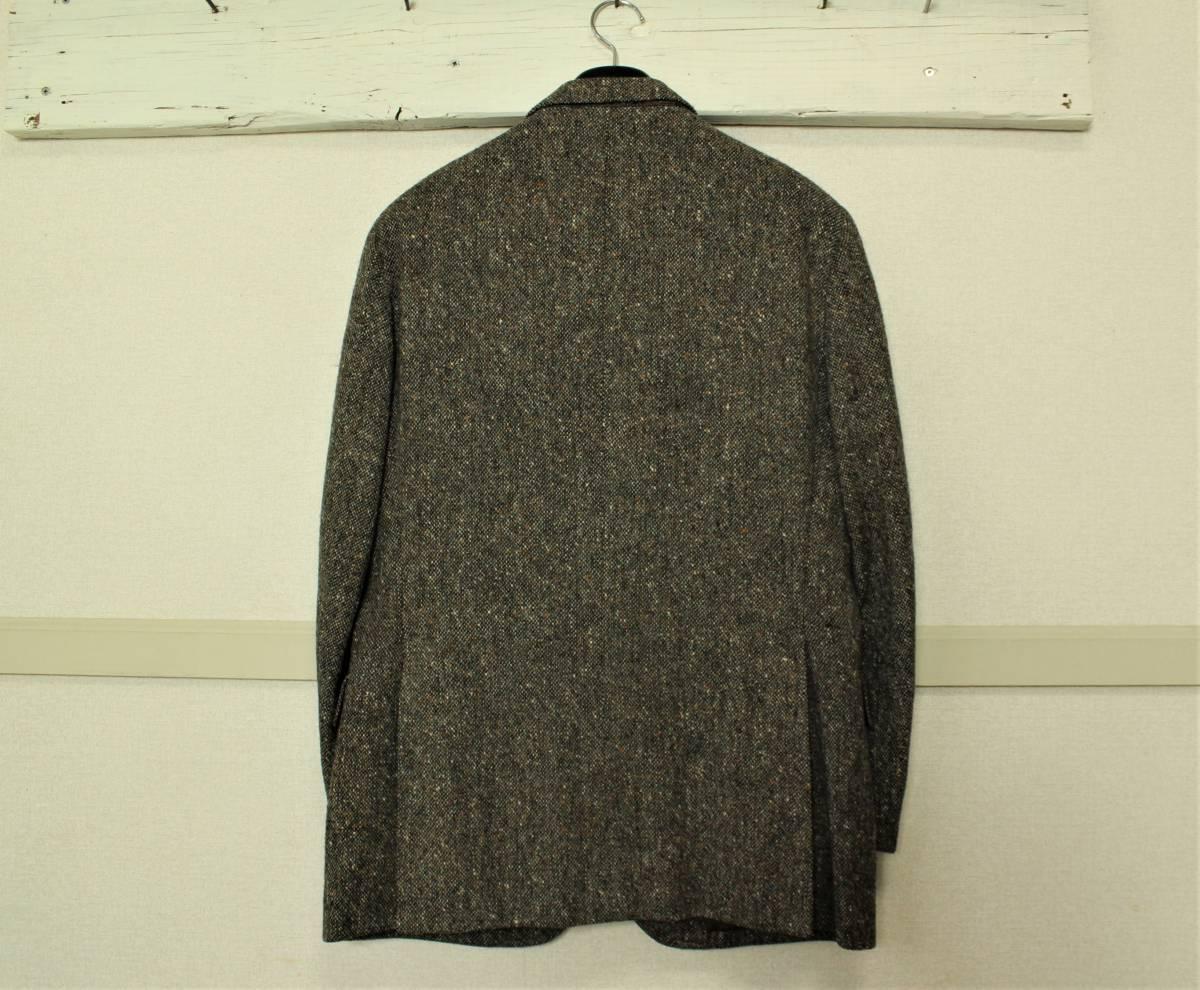 バーバリー BURBERRY 最高級ツイードジャケット ブレザー AB6 二つ釦 極美品 冬物 メンズ 紳士服 48相当【送料無料 送料込み 匿名配送】_画像3