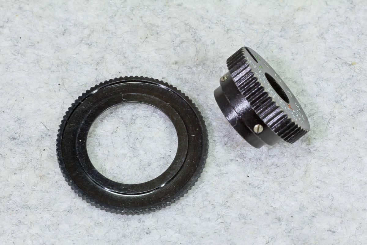 ☆ASAHI PENTAX アサヒペンタックス S2 シャッターダイヤル1/1000までと感度 表示環のセット!_画像2