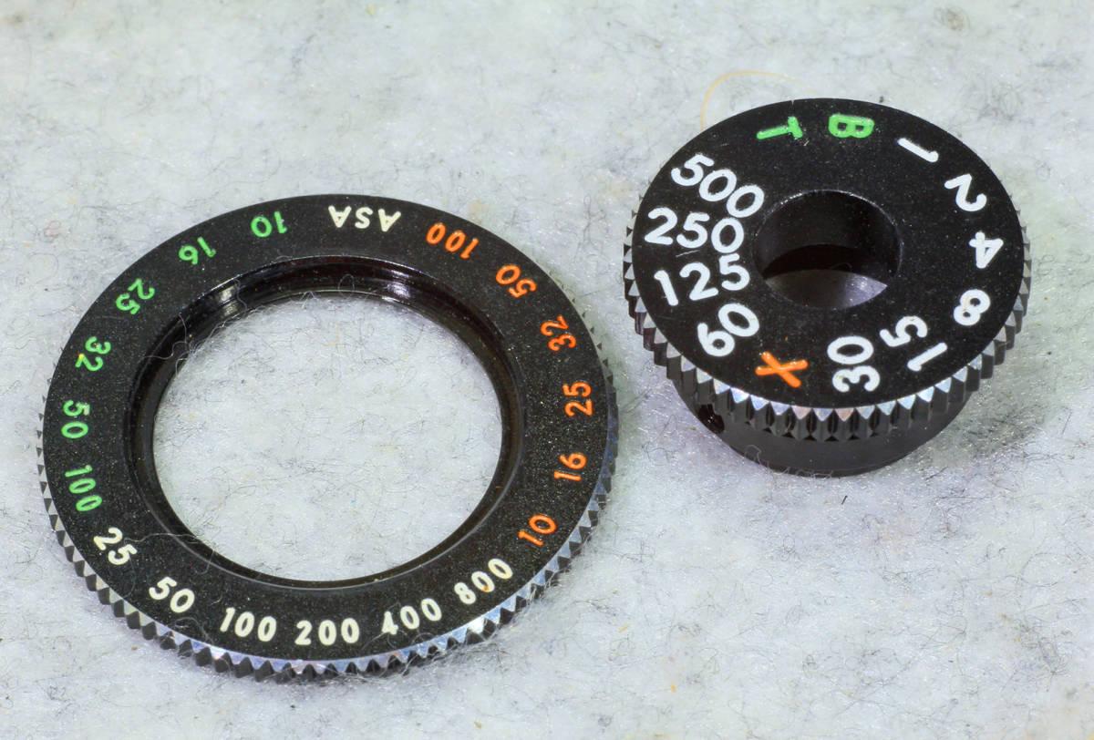 ☆ASAHI PENTAX アサヒペンタックス S2 シャッターダイヤル(1/500 まで)と感度表示環のセット です!