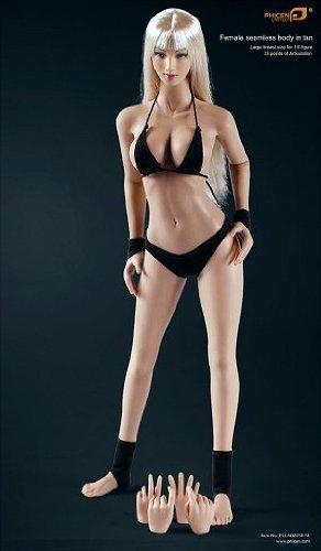 【送料無料・未使用・箱痛み】ファイセン・リミテッド シームレス女性素体 1/6 タンスキン/ブロンドVer./Large Breasted Type PLLB2013-13_画像3