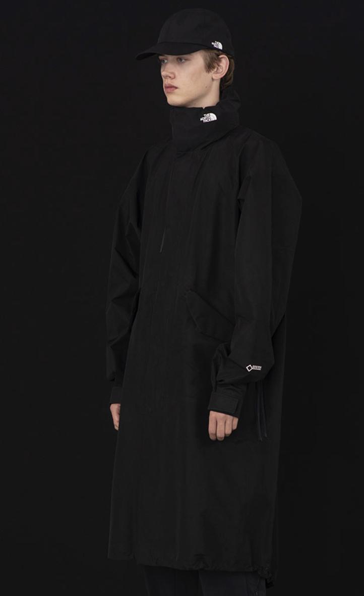 hyke north face GTX military coat men's L_画像2