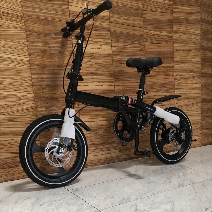 完全売り切り 高級仕様 折りたたみ 自転車 前後ディスクブレーキ ギア付き ファットバイク 電動 アシスト 自転車 マウンテンバイク 通勤_画像3