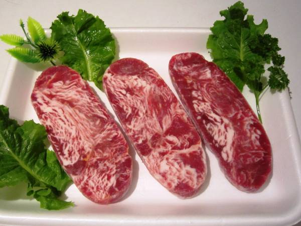 ★Special fares★commercial beef sirloin approximately 125g×5 pieces=approximately 625g, 248 yen/100g