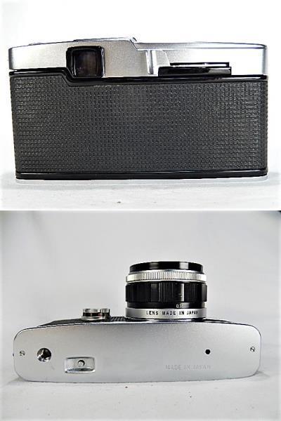 ★美品 オリンパス ペンF 1:1.8 38mm + 100㎜望遠レンズ モルト交換・点検清掃・作動確認済_画像8