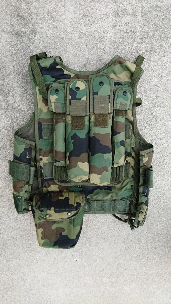 セルビア軍装備セット セルビア、ユーゴスラビア、M89,M93迷彩服、M99ベスト、_画像4