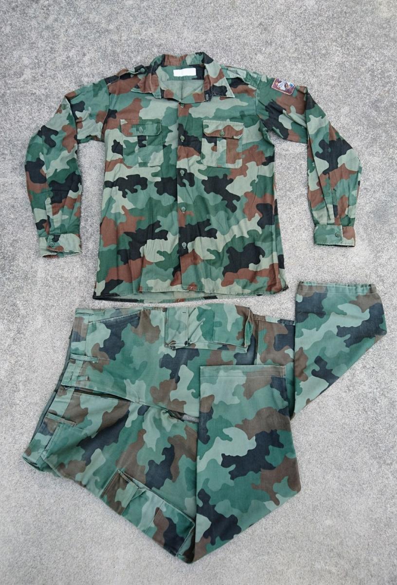 セルビア軍装備セット セルビア、ユーゴスラビア、M89,M93迷彩服、M99ベスト、_画像6