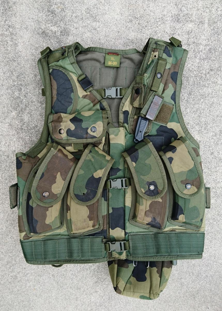 セルビア軍装備セット セルビア、ユーゴスラビア、M89,M93迷彩服、M99ベスト、_画像2