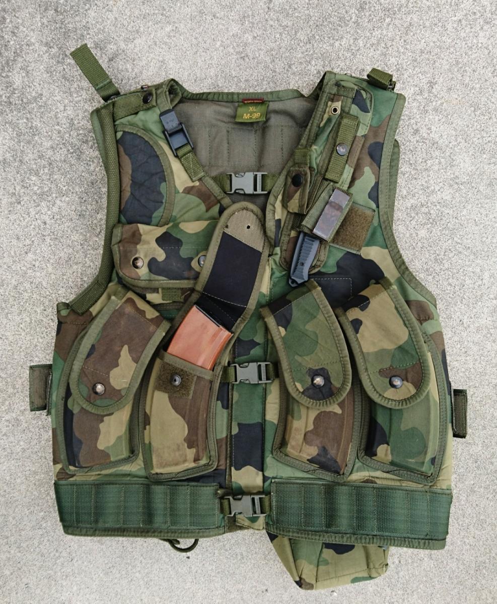 セルビア軍装備セット セルビア、ユーゴスラビア、M89,M93迷彩服、M99ベスト、_画像3
