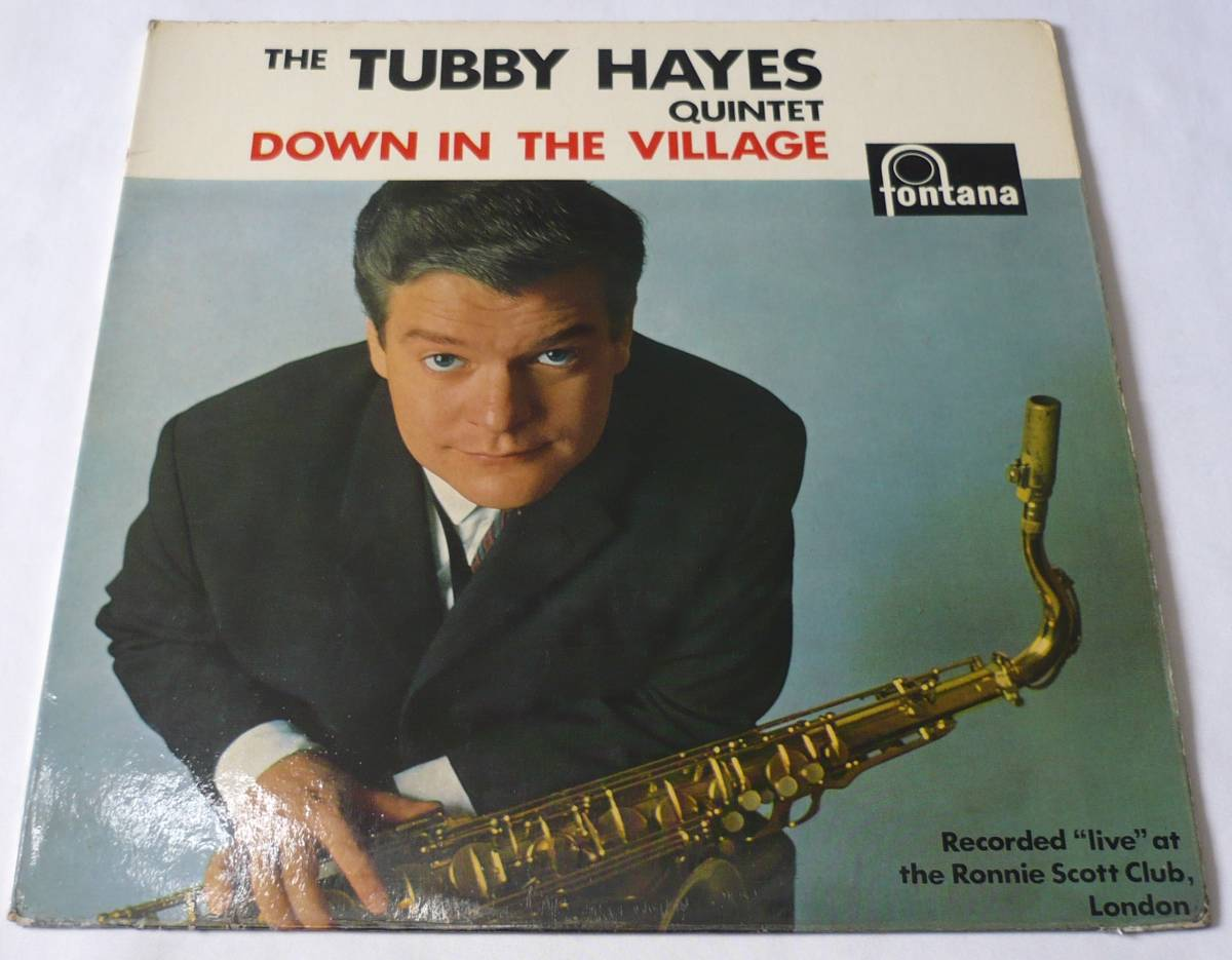 Tubby Hayes/Down in the Village/英Fontana 680990 TL 試聴_画像1