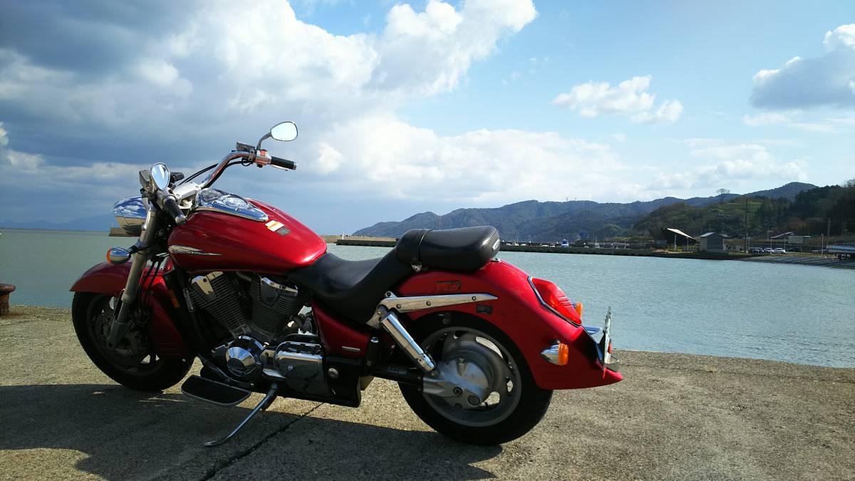 「USホンダ逆輸入VTX1800 ハーレー ハーレーダビッドソン USホンダVTX1800 長渕剛系アメリカンバイク」の画像1
