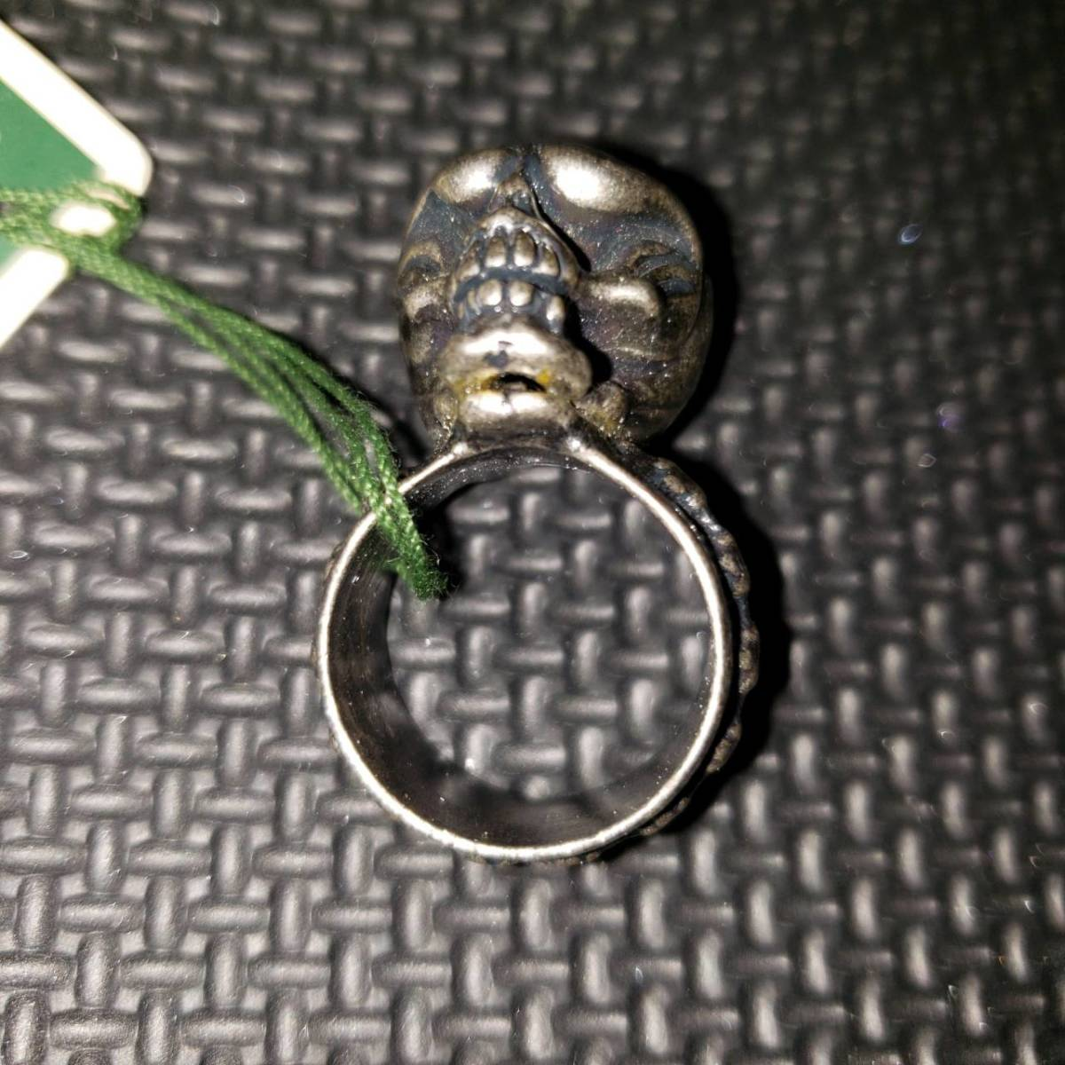 新品 beauty:beast/ビューティービースト スカルヘッドリング Lサイズ 21号 シルバー BBR130-52L 指輪 アクセサリー_画像2