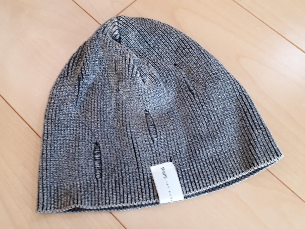 31c0bfcf3b3c 代購代標第一品牌- 樂淘letao - シップスSHIPS 灰色グレーコットンニット帽ビーニー