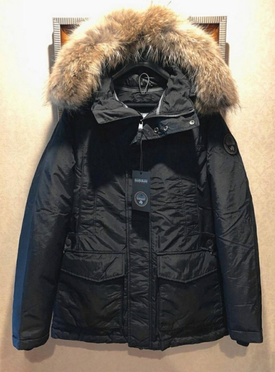 NAPAPIJRI (ナパピリ)最上級ライン・定価16万・EXPEDITION TEAM PARK・超豪華コヨーテファー極地防寒・ダウンジャケット・北極観測隊用
