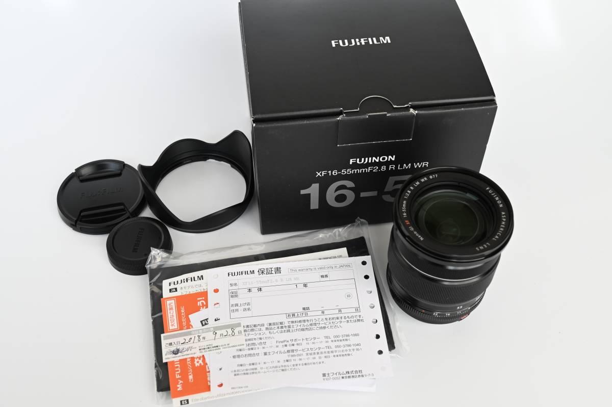 【美品・送料無料】 富士フィルム フジノンレンズ XF16-55mmF2.8 R LM WR 2018年9月購入