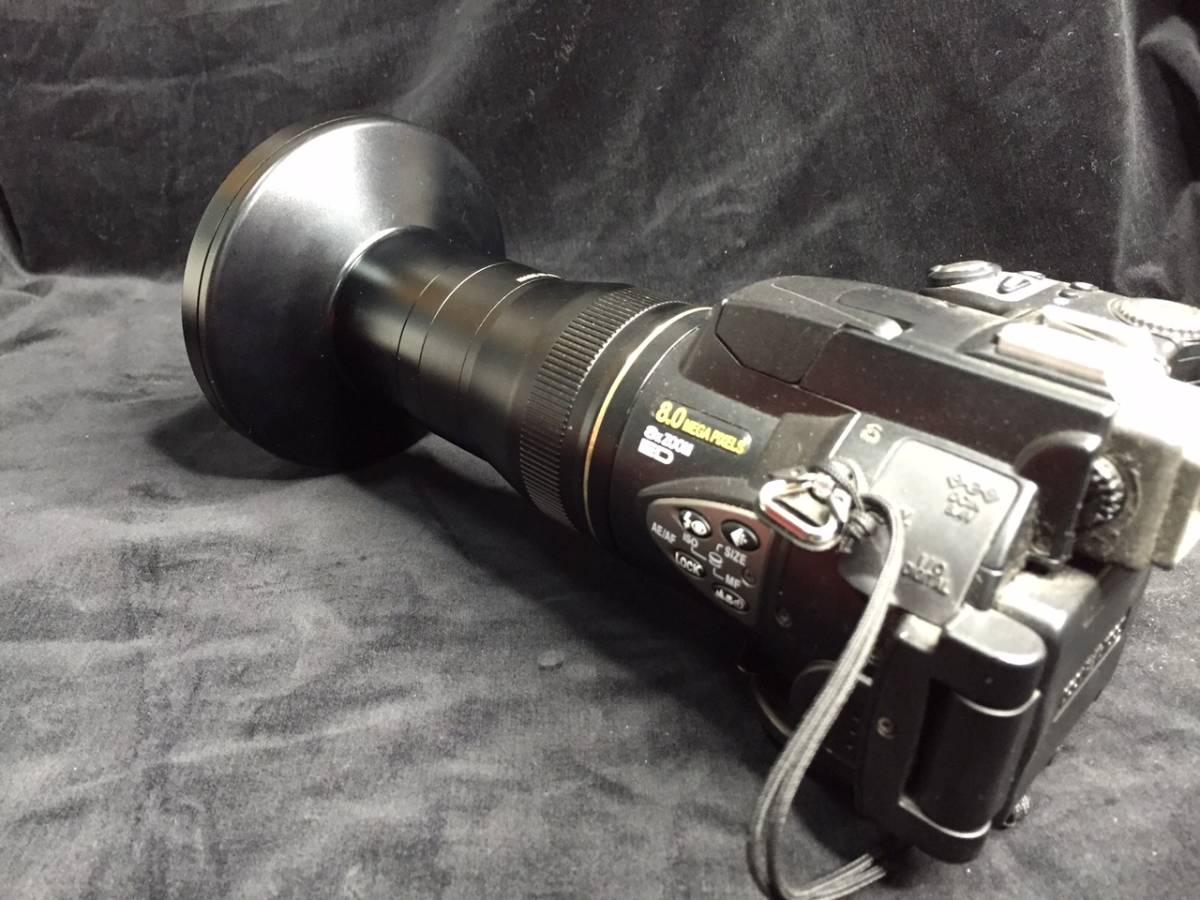 [送料無料] Nikon FC-E9 フィッシュアイコンバーター レア 魚眼 Fisheye Converter X0.2 + COOLPIX 8700 + アダプタリング UR-E18_画像3
