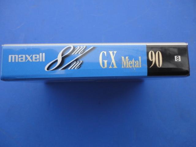 ☆8ミリビデオテープ ☆maxell GX  Metal メタルテープ 90分☆(MADE IN JAPAN)日立マクセル株_画像2