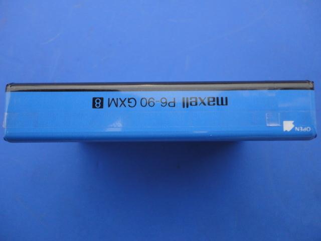 ☆8ミリビデオテープ ☆maxell GX  Metal メタルテープ 90分☆(MADE IN JAPAN)日立マクセル株_画像6
