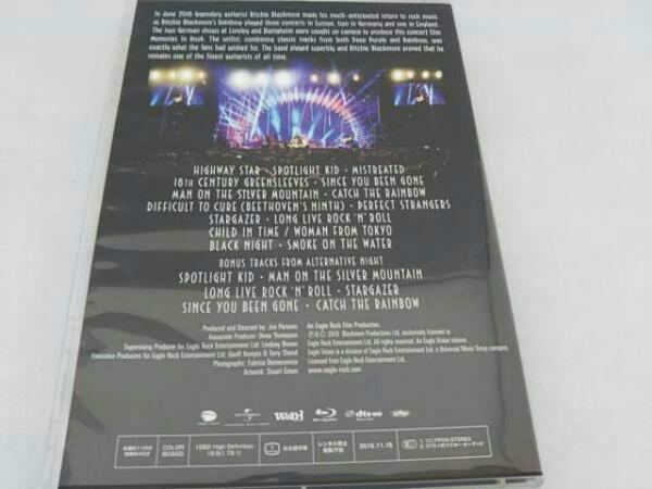 メモリーズ・イン・ロック~ライヴ・アット・モンスターズ・オブ・ロック2016通常版Blu-ray/日本盤限定ボーナストラック/日本語解説書封入_画像2